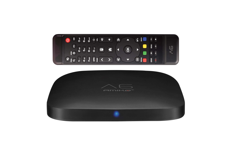 Octagon SX888 4K UHD IP Receiver H.265 1GB RAM 4GB Flash Stalker IPTV Multistream Negro